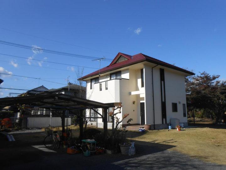 足利市小俣町T様邸 屋根、外壁塗装工事