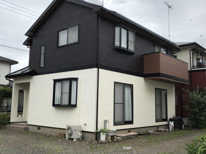 足利市福居町M様邸 屋根、外壁塗装工事