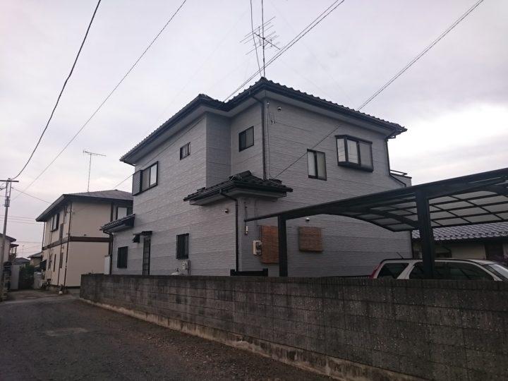 太田市東金井町Y様邸 外壁塗装工事