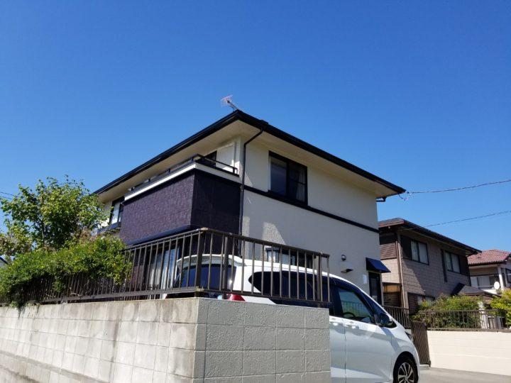 I様邸屋根、外壁塗装