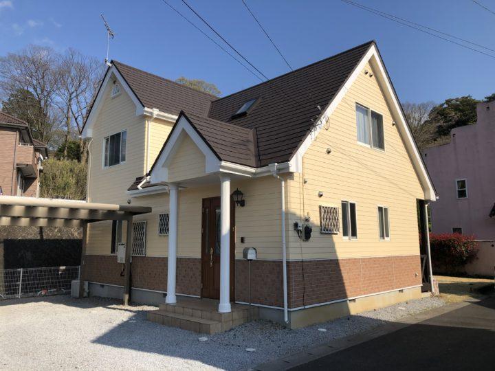 H様邸屋根カバー工法、外壁塗装