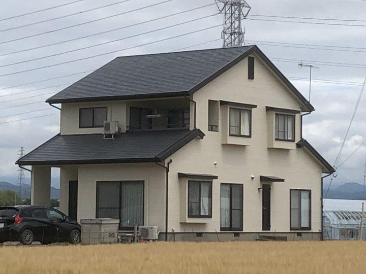 佐野市F様邸 屋根外壁塗装工事
