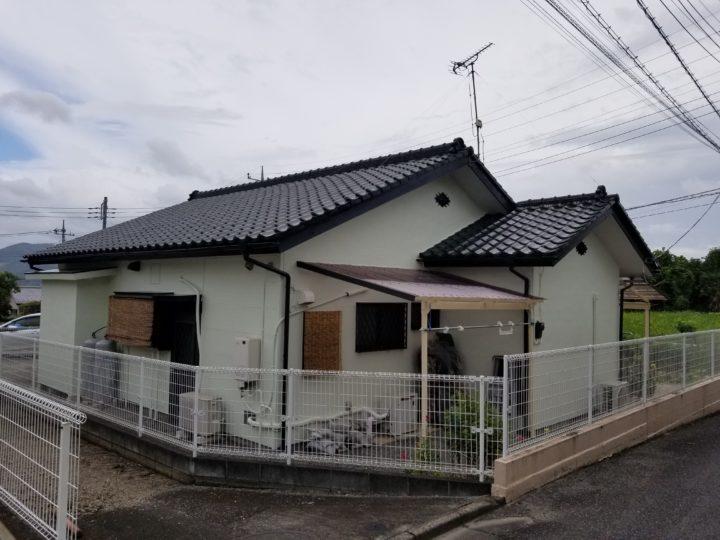桐生市 N様邸外壁塗装、波板張替え工事