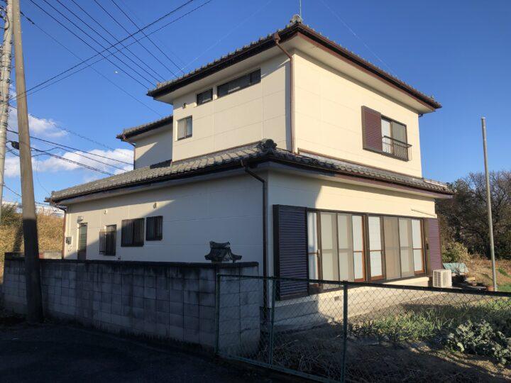 栃木県足利市 T様邸 外壁塗装