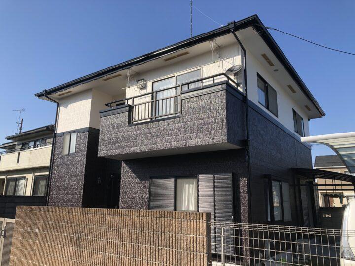 栃木県足利市 M様邸 屋根塗装、外壁塗装、サンルーム撤去等