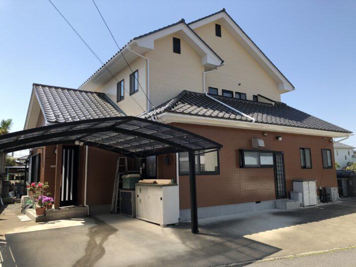 栃木県足利市 O様邸 外壁塗装、ベランダ防水等