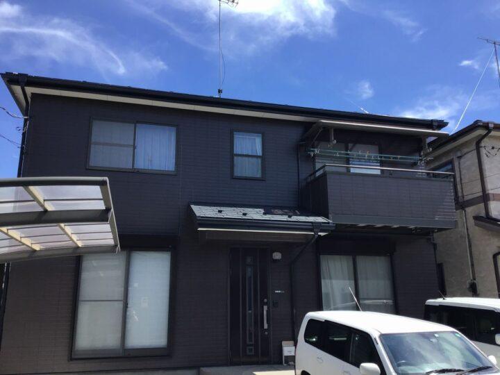 栃木県足利市 H様邸屋根、外壁塗装工事